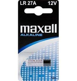 Maxell Maxell LR27A Alkaline 12v 1 stuk