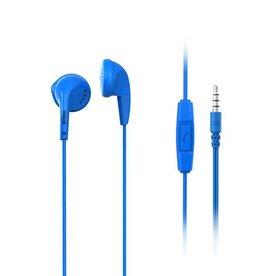 Maxell Maxell EB95 Stereo Earbud + Mic kleur Blauw