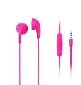 Maxell Maxell EB95 Stereo Earbud + Mic kleur Roze