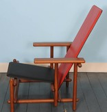 Cassina Lounge Chair in the Manner of Gerrit Rietveld