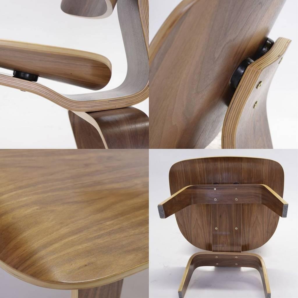 ... Eames Walnut Lounge Chair LCW ...