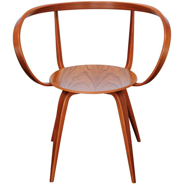 Perfect Pretzel Chair With Armrests By George Nelson ...