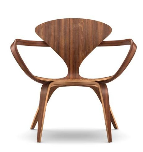 Cherner Lounge Stoel With Arms Wonderwood