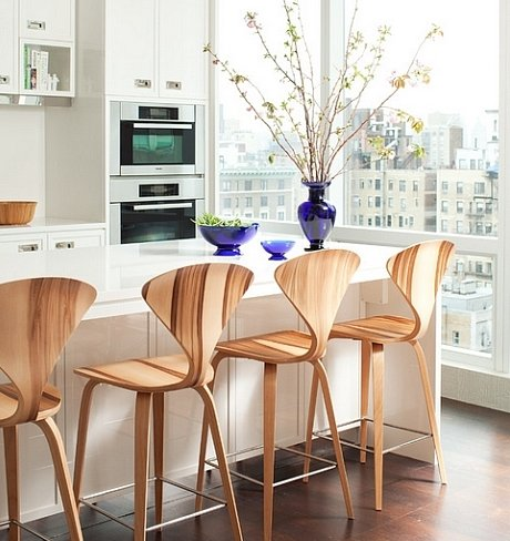 ... CHERNER BAR STOOL with wood base ... - CHERNER BAR STOOL With Wood Base -