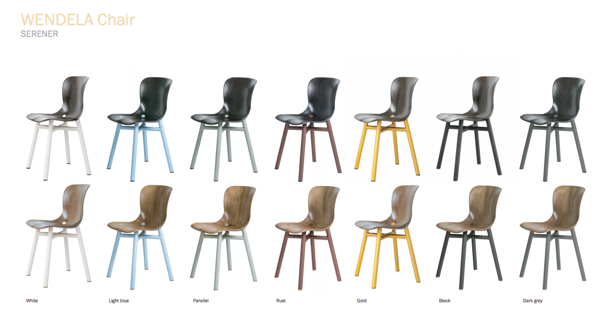 wendela chair colors