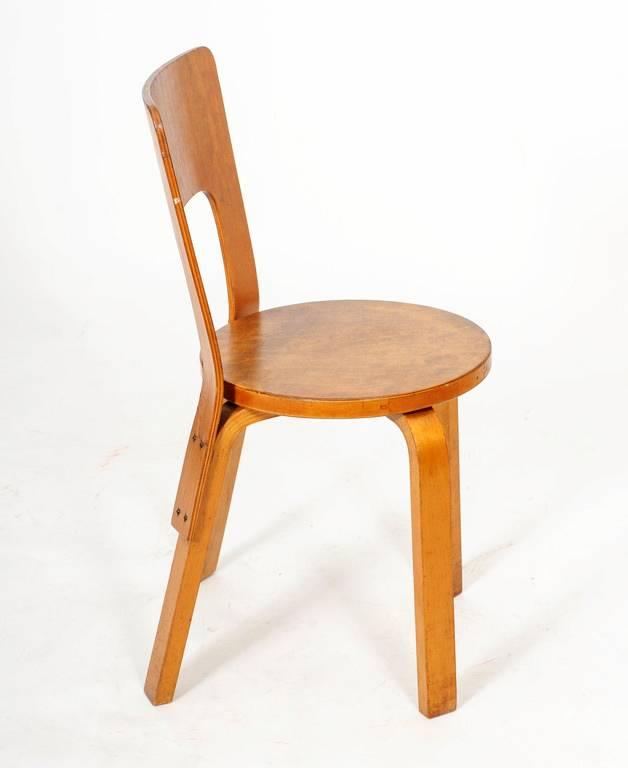 Alvar aalto chair for Chaise 66 alvar aalto