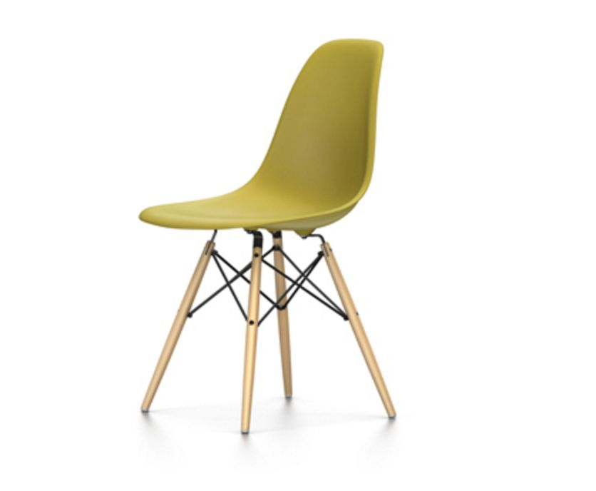 ... Eames Plastic Side Chair DSW ...
