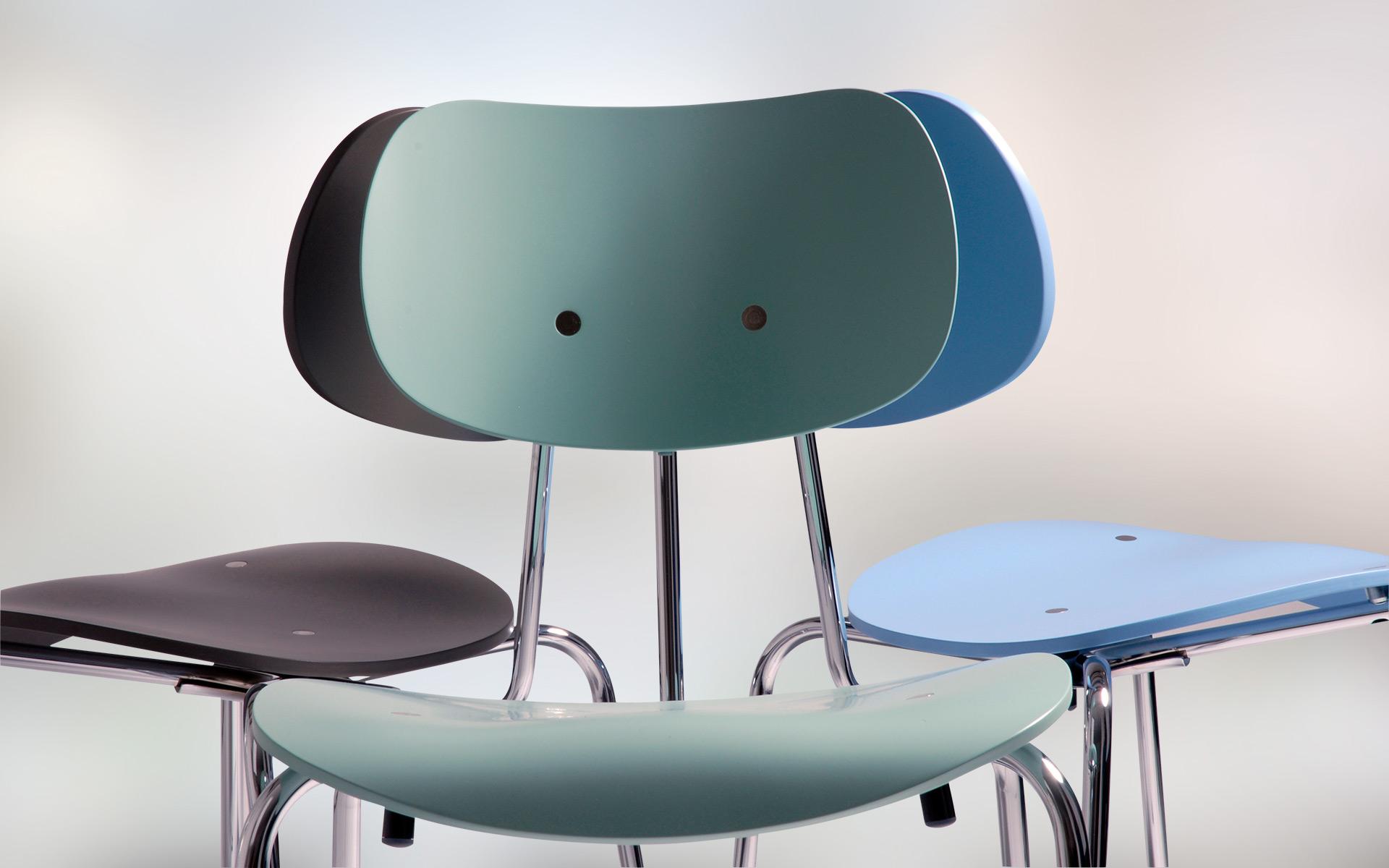 multifunctionele stoel van egon eiermann wonderwood. Black Bedroom Furniture Sets. Home Design Ideas