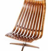 Vintage Plywood Hans Brattrud Senior Lounge Chair