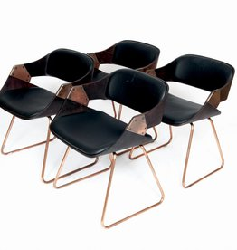 Vintage Plywood Verelst Diner Chairs
