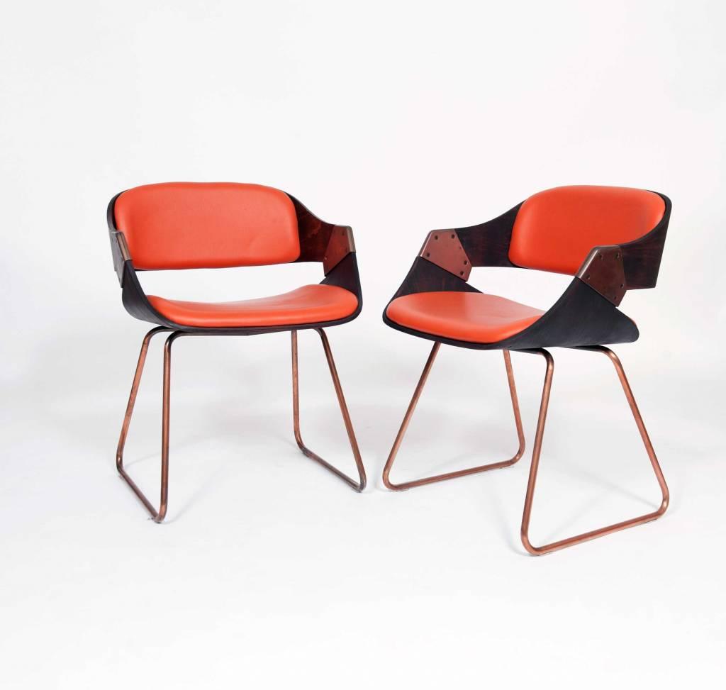 Eetkamerfauteuil leer bol goossens mountain vintage stoel bruin met arm - Ontwerp eetkamer design ...