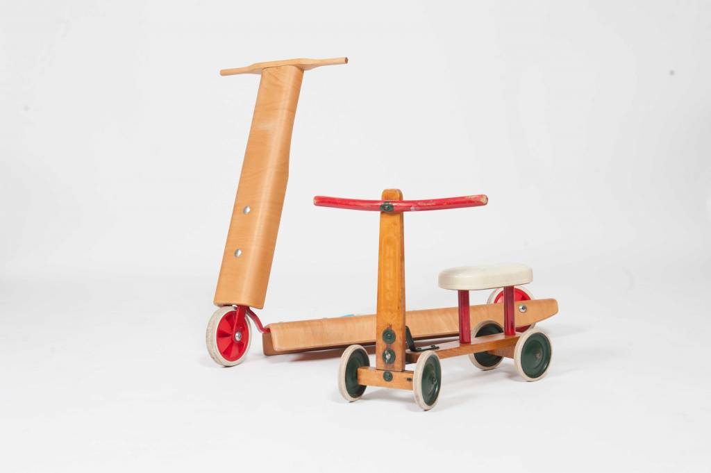 Vintage Plywood Vintage Step for childeren