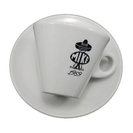 Caffè Mike Mike B/W - Cappuccino cup