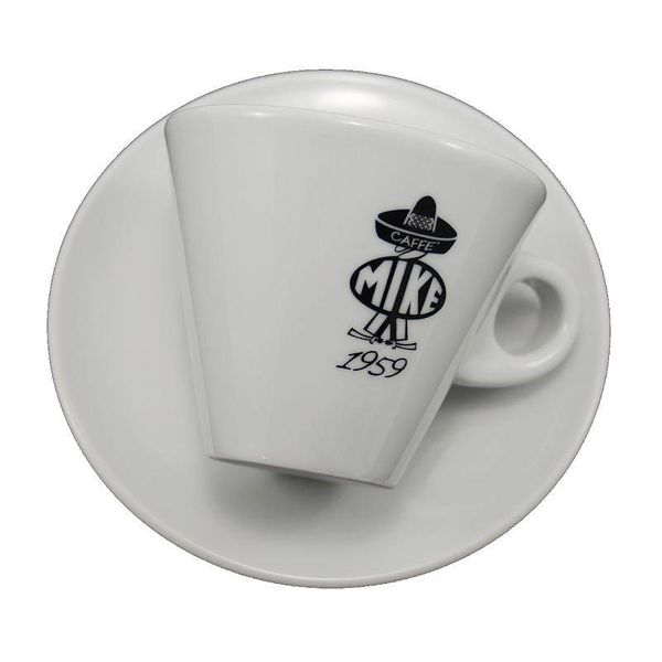 Mike B/W - Cappuccino cup