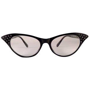BK Zwarte Vlinderbril - Angie