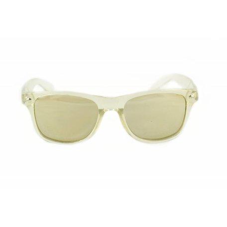 Spiegel Zonnebril met Zilveren Spiegelglazen - Edge Limited Edition