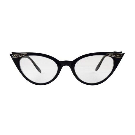 Zwarte Vlinder Bril - Quincy
