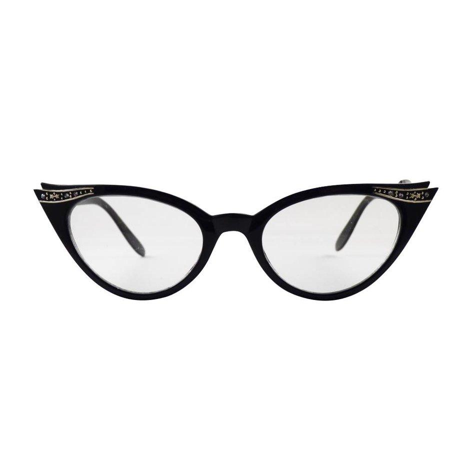 zwarte vlinder bril quincy koop je bij brillenkampioen. Black Bedroom Furniture Sets. Home Design Ideas