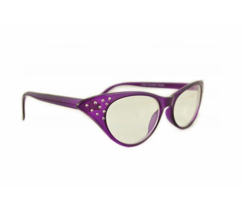 Paarse Vlinderbril - Angie