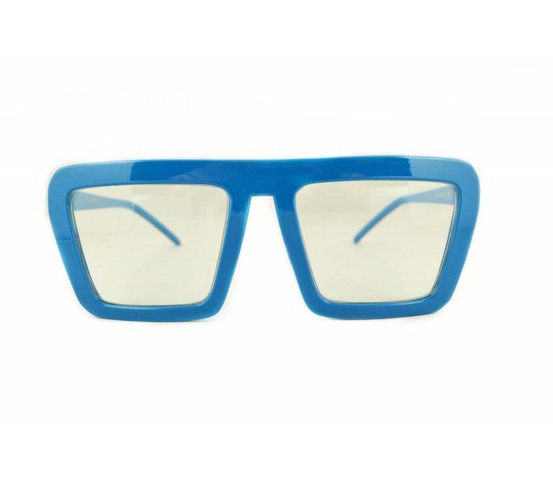 Blauwe Feestbril - Aloa