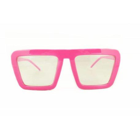 Roze Feestbril - Aloa
