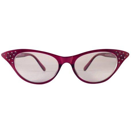 Rode Vlinderbril - Angie