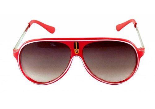 BK Rode Zonnebril - Color Line