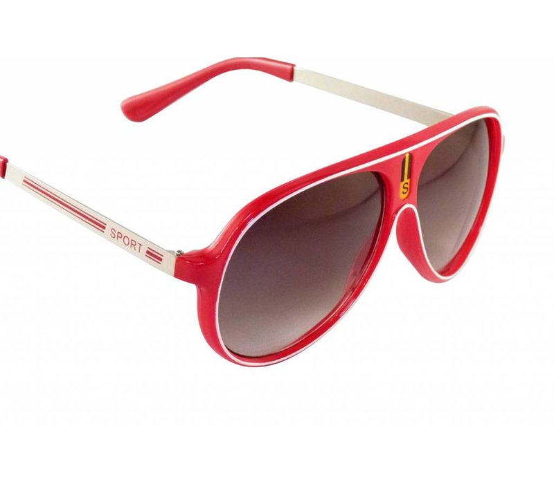 Rode Zonnebril - Color Line