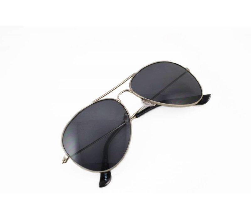 Zilveren Pilotenbril met Grijze glazen - Endurance