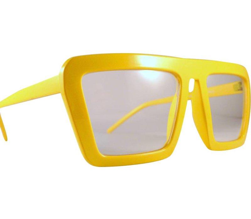 Gele Feestbril - Aloa