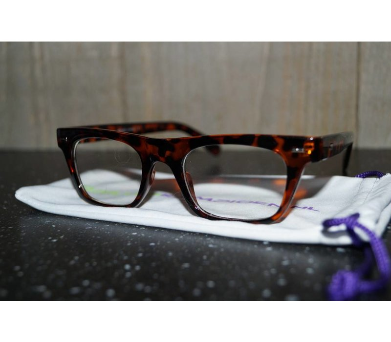Bruine Bril - Woody 2.0