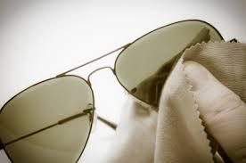 zonnebril schoonmaken