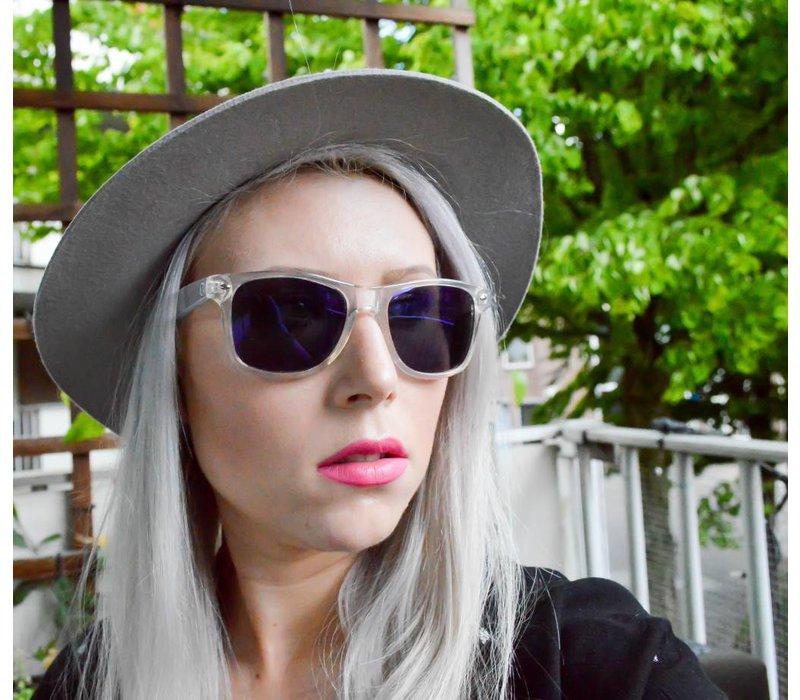 Spiegel Zonnebril met Blauwe Spiegelglazen - Edge Limited Edition
