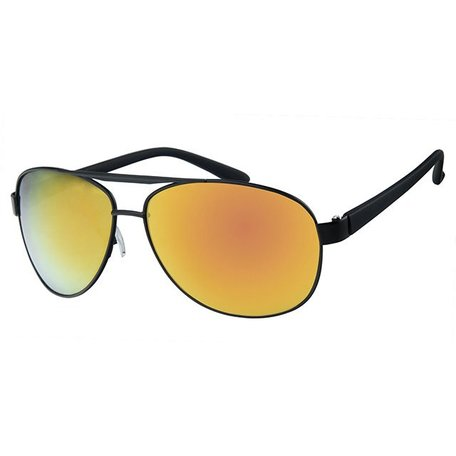 Classic Aviator - Sharp Gold Mirror