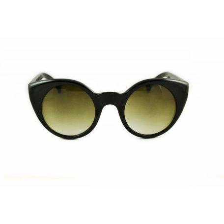 Zwarte Zonnebril - Butterfly Vintage