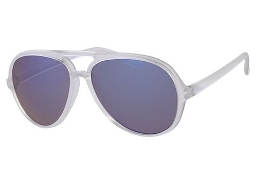 BK RETRO FROSTED PARTY SUMMER STYLE AVIATOR - ICE SUNNY