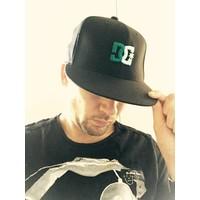 SNAPBACK CAP DC ZWART/GROEN