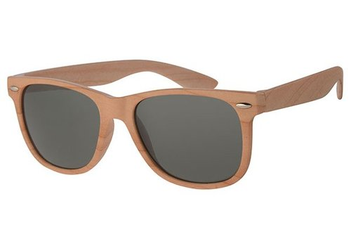 BK WOOD PRINT SUNGLASSES - WAYFARER WOODS