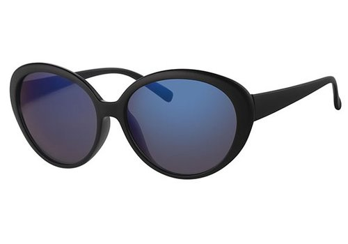 BK BLACK WOMENS SUNGLASSES - BLUE CHILL