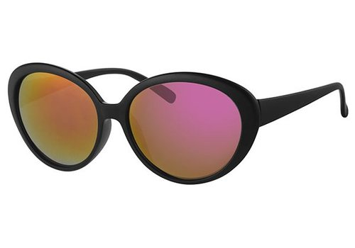 BK BLACK WOMENS SUNGLASSES - BLACK FIRE