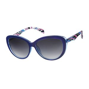 BK DAMES ZONNEBRIL RETRO CAT EYE - PURPLE POLARIS