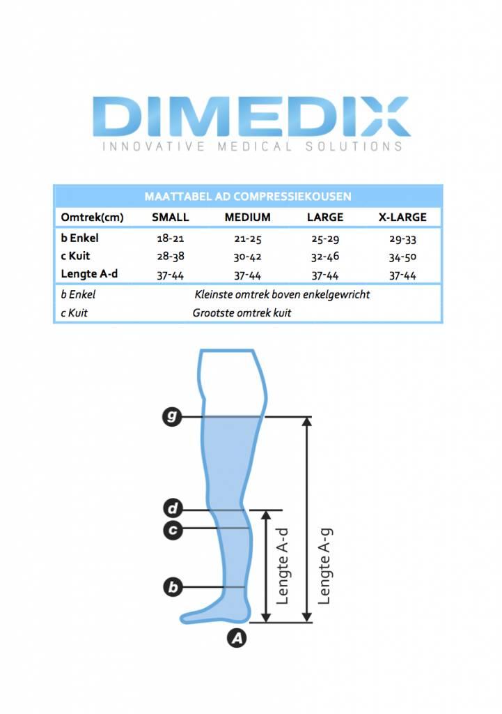 DIMEDIX X-SOFT (Ccl. 2) steunkousen