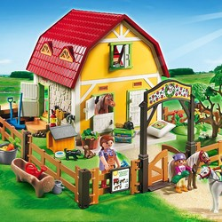 playmobil paarden club