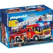 Playmobil Playmobil City Action Brandweer Ladderwagen met Licht en Sirene 5362