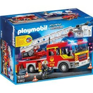 Playmobil City Action Brandweer Ladderwagen met Licht en Sirene 5362