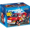 Playmobil Playmobil City Action Brandweer Commandant met Dienstwagen 5364