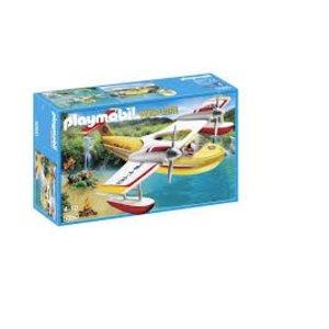 Playmobil Wild Life Brandblusvliegtuig 5560