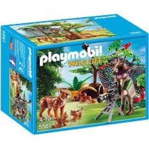 Playmobil Wild Life Lynxen met Cameraman 5561