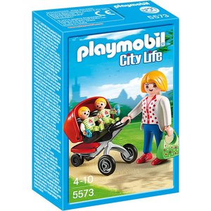 Playmobil City Life Tweeling Kinderwagen 5573