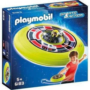 Playmobil Sport & Action Vliegende Schotel met Astronaut 6183